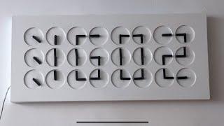 Digital Clock Made of Analog Clocks - Custom ClockClock24 Project screenshot 5