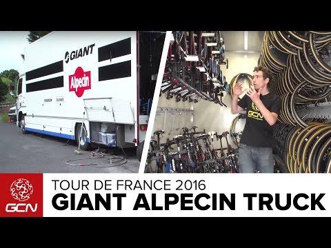 Giant Alpecin Team Truck Tour   Tour De France 2016