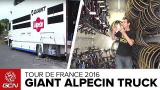 Giant Alpecin Team Truck Tour | Tour De France 2016