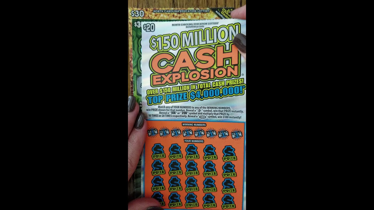 $80 haul ~ Scratch Off Lottery Tickets 2019 ~ NC Scratch Off Winners