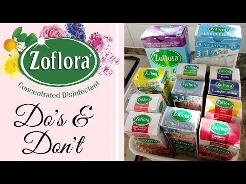 DOS AND DONTS WHEN USING ZOFLORA / ZOFLORA USES / ZOFLORA HINTS AND TIPS