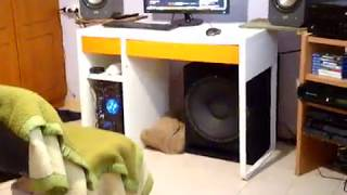15 PA subwoofer Master Audio lsn15/8 bass test