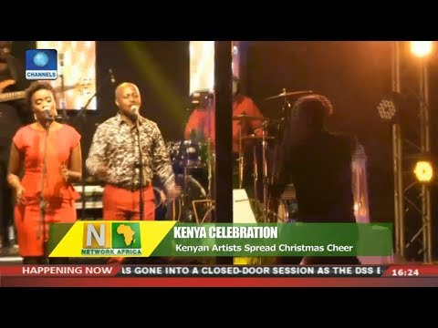 Kenyan Artists Spread Christmas Cheer | Network Africa |