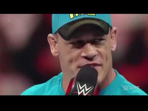 What happens when John Cena gets angry/rage
