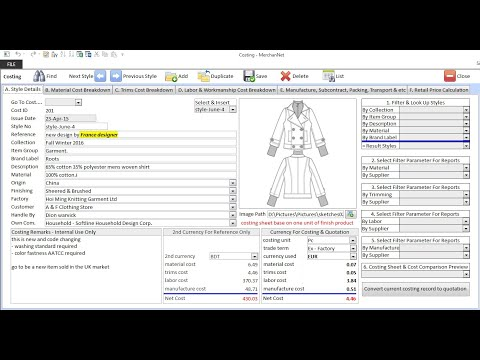 garment-costing-software-free