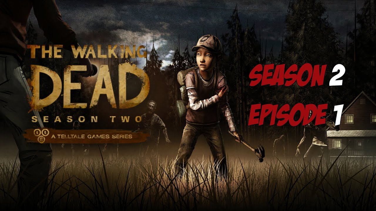 The Walking Dead - Season 2 - Episode 1 - Game Movie