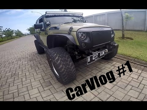 "WELCOME TO MY NEW CHANNEL ~ CarVlog1 ""INDONESIA"""