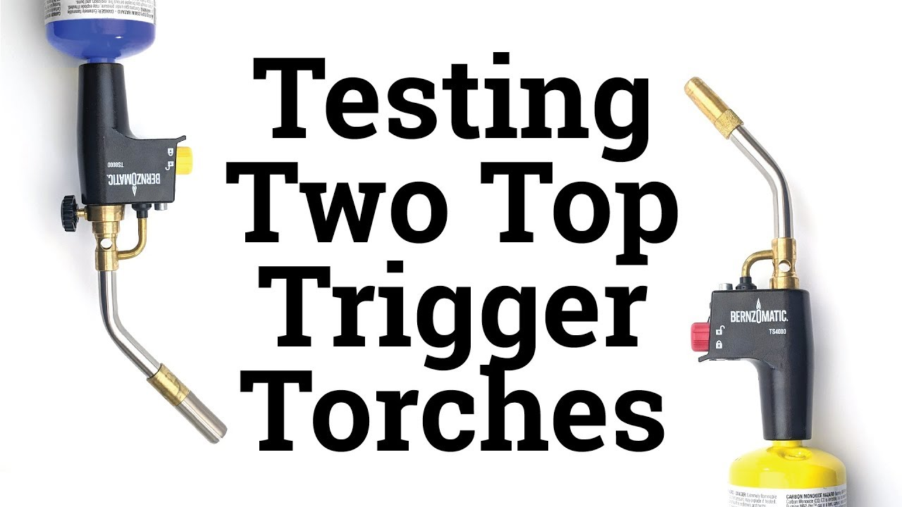 Torch Welding Soldering Tool Bernzomatic TS8000 High Intensity Trigger Start New