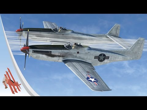 War Thunder Gameplay – Twin Mustang Ace