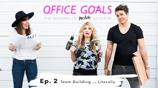 Team Building ... Literally | Office Goals | Mr Kate | Episode 2