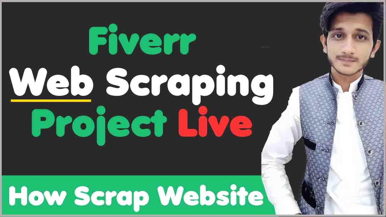 Fiverr Web Scraping Project Tutorial | Data Entry Web Scraping Tutorial | Data Entry on Fiverr