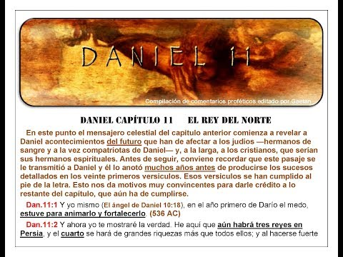 Daniel Capitulo 11  El Rey del Norte del Fin