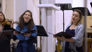 """Ana Torbica sings """"Gloria"""" from the cantata """"Wachet auf"""" by Buxtehude"""