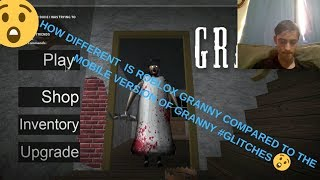 Getting killed by Glitches in ROBLOX GRANNY AHH!!! ANGREDSIREN960's Roblox Adventures ep 3