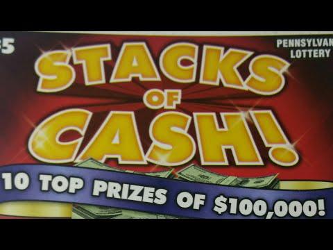 New $5 Pa lottery scratch tickets.  Winners.