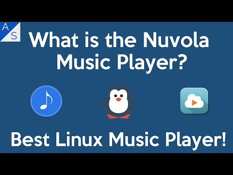 What is the Nuvola Music Player? | The Best Linux Music Player!