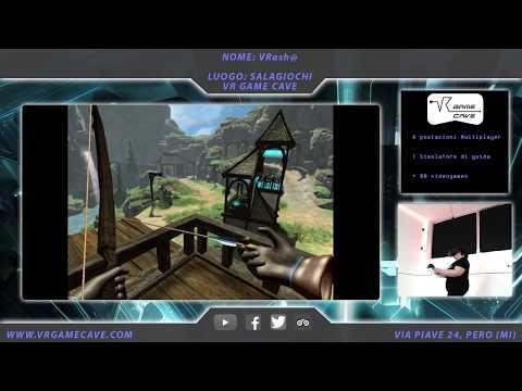 Elven Assassin Gameplay - VR Game Cave (Ita) |