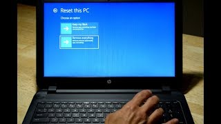 Restore Reset HP Notebook or Laptop To Factory Defaults Settings | All hp models