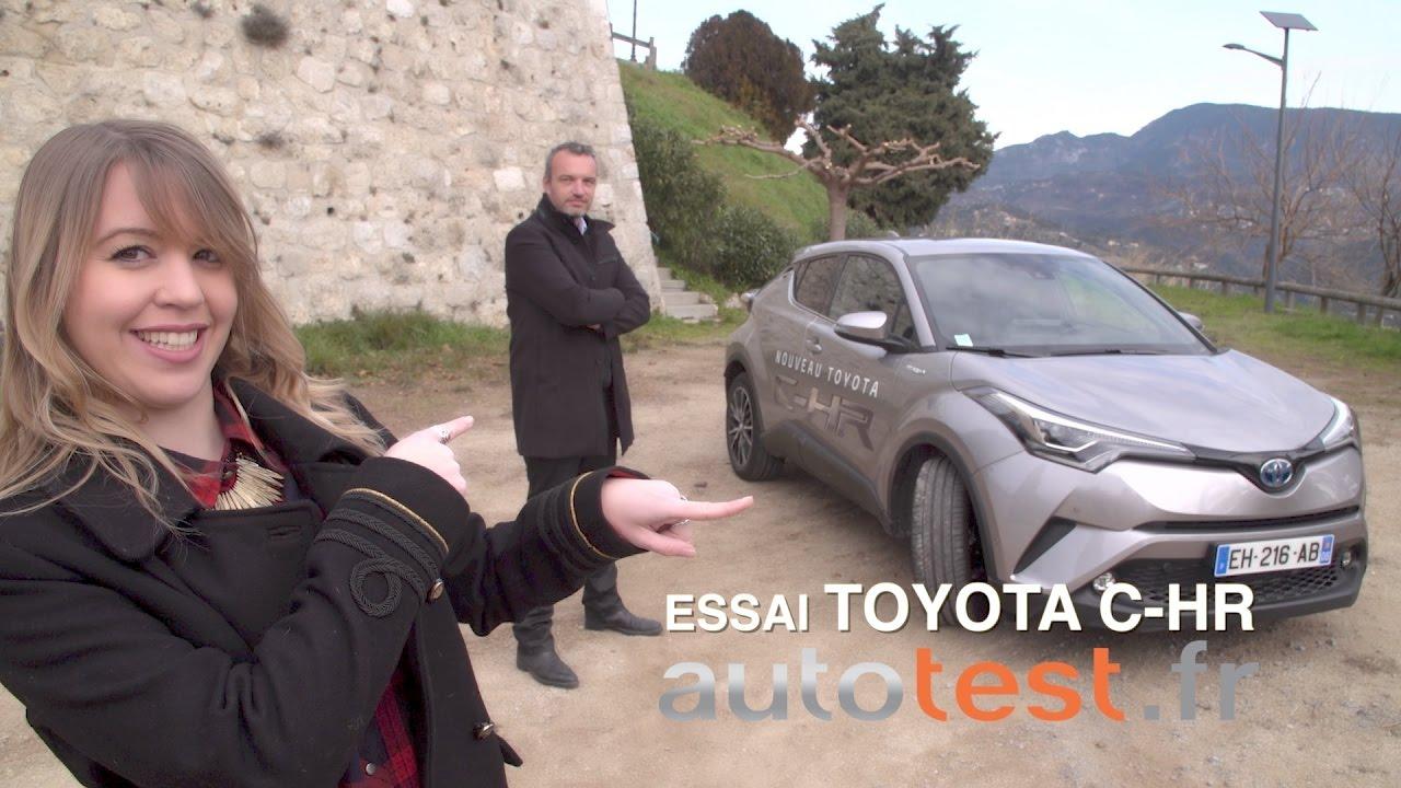 Essai Toyota C-HR Hybrid (avec AEPSPIECES)