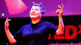 Saving Communities via Creativity Anarchy & Self-Directed Learning | Sophie McKeand | TEDxHolyhead