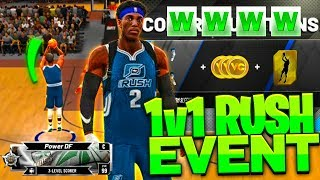 I TOOK MY PLAYSTRETCH TO THE 1V1 RUSH EVENT • CAN THE BEST BUILD IN NBA 2K20 WIN?