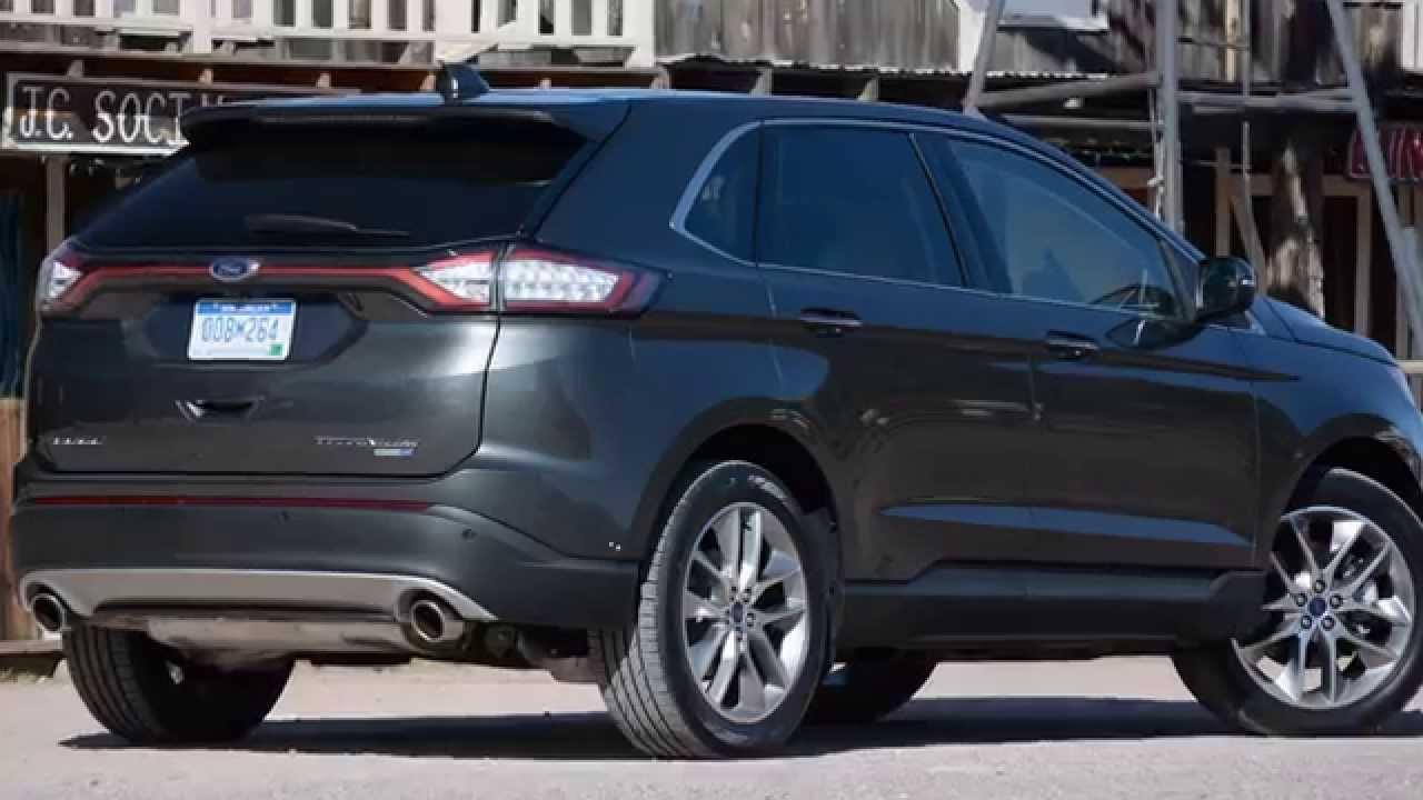 Ford Edge Vs  Jeep Grand Cherokee Srt