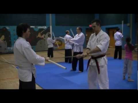 Séminaire de bô avec Renshi Rudy Duquet 5e Dan en Karaté Yoseikan