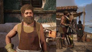 Assassin's Creed Odyssey Kosta Romance (Alexios)