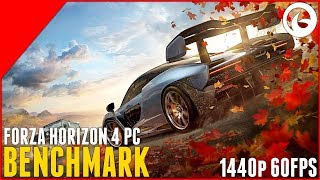 Forza Horizon 4 Demo - PC Benchmark - 1440p 60FPS Ultra Settings