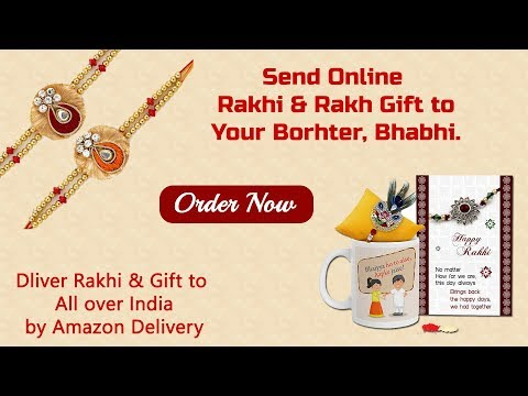 Online Rakhi & Rakhi Gift Ideas - Send Rakhi To All Over India