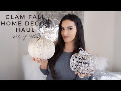 FALL HOME DECOR HAUL GLAM DECOR FOR FALL