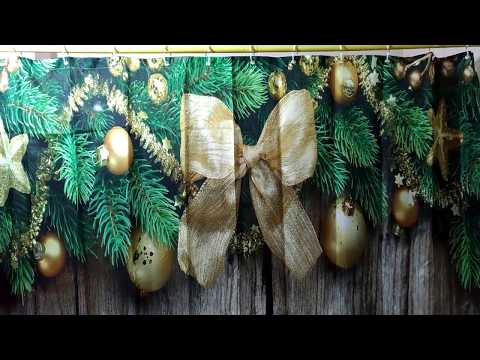 Christmas Wood Bathroom Shower Curtain Review