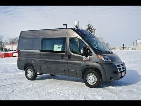 2014 Ram ProMaster 1500 High Roof 136WB Cargo Van Grey Dayton Troy ...