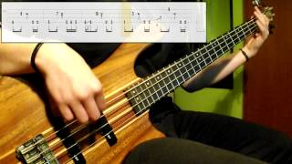 Jamiroquai - Falling (Bass Cover) (Play Along Tabs In Video)