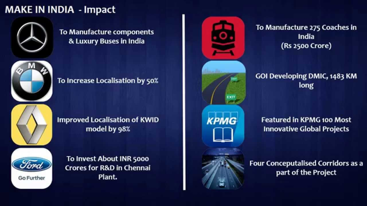 Presentation: Impact of Make in India