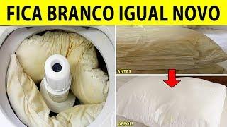 Truque Incrível Para Lavar Travesseiros