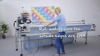 Bernina Q 24 Tutorial: Loading The Quilt Frame