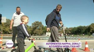 Autómentes nappal zárult az Európai Mobilitási Hét