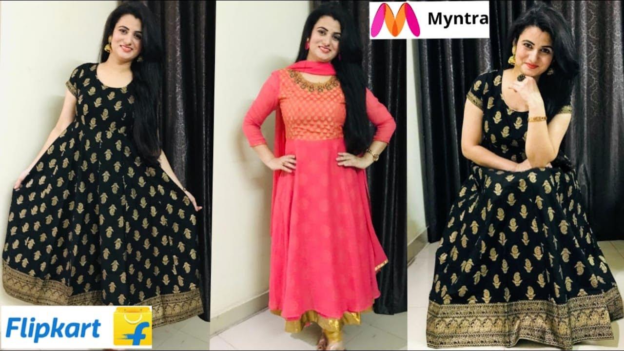 💥Flipkart Shopping Haul💥|| Myntra Shopping Haul || Imara Kurta Set Review || Anarkali Kurta  Review