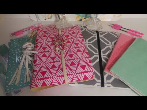 DOLLAR TREE DIY PLACEMAT MIDORI'S/TRAVELERS NOTE BOOK/XMAS GIFTS PT.1