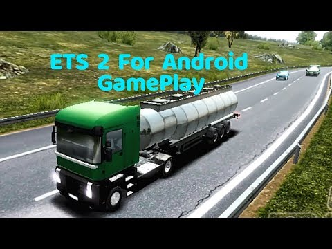 Euro Truck Simulator 2 Drive With Mobile Game Play | ETS - 2 Android GamePlay