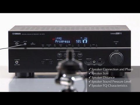 Yamaha AV Receiver -YPAO