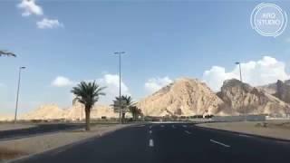TRAVEL | AL AIN DRIVE | UAE VLOGS | ARQ STUDIOS