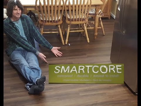 smartcore flooring installation & review - youtube