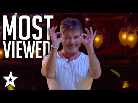 MOST VIEWED Performances on Britain's Got Talent 2018   Got Talent Global
