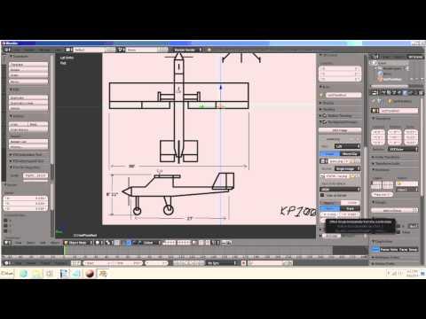 How To Use Blender For Making Flight Simulator X Models (FSX) Blender2FSX