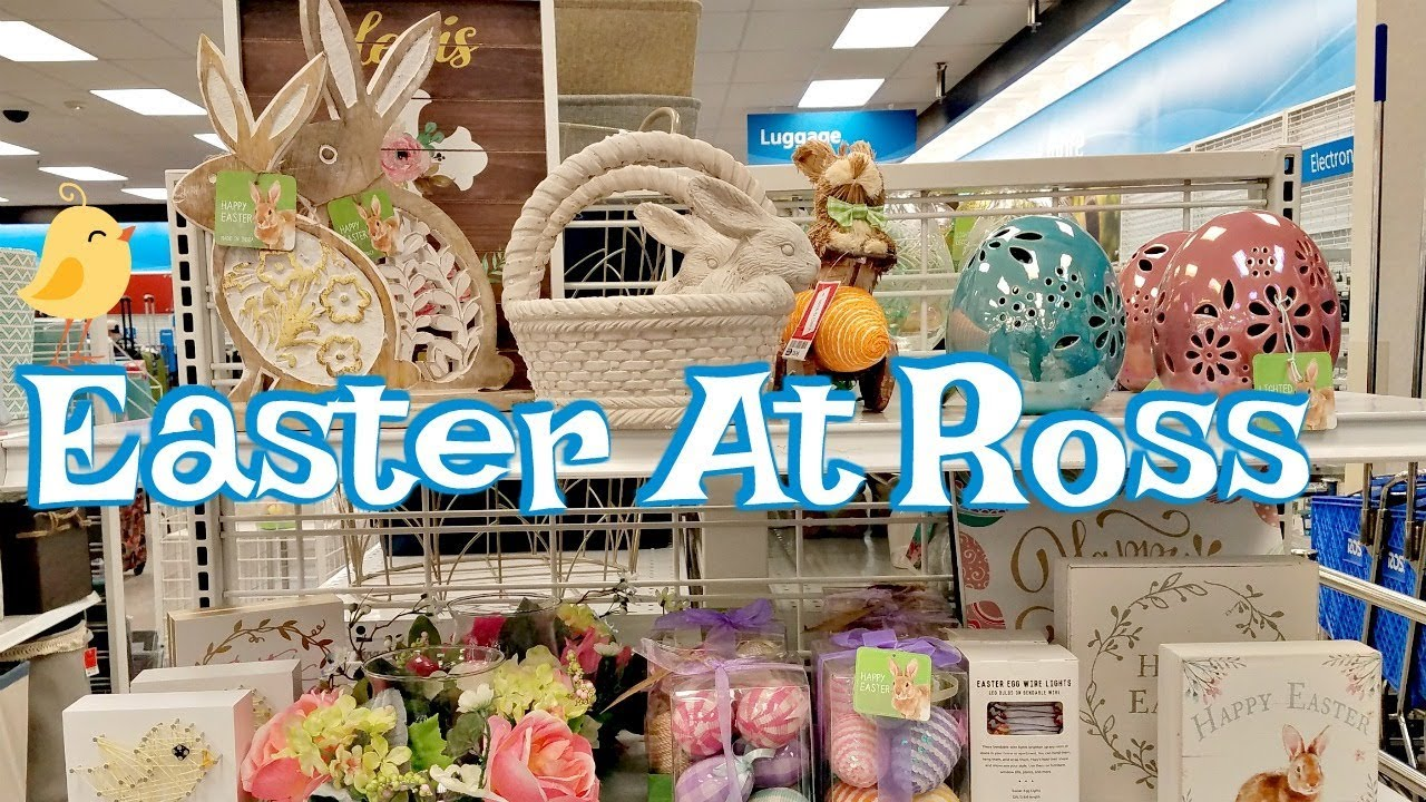 Shop With Me Ross Easter Spring Home Decor Iidea 2018