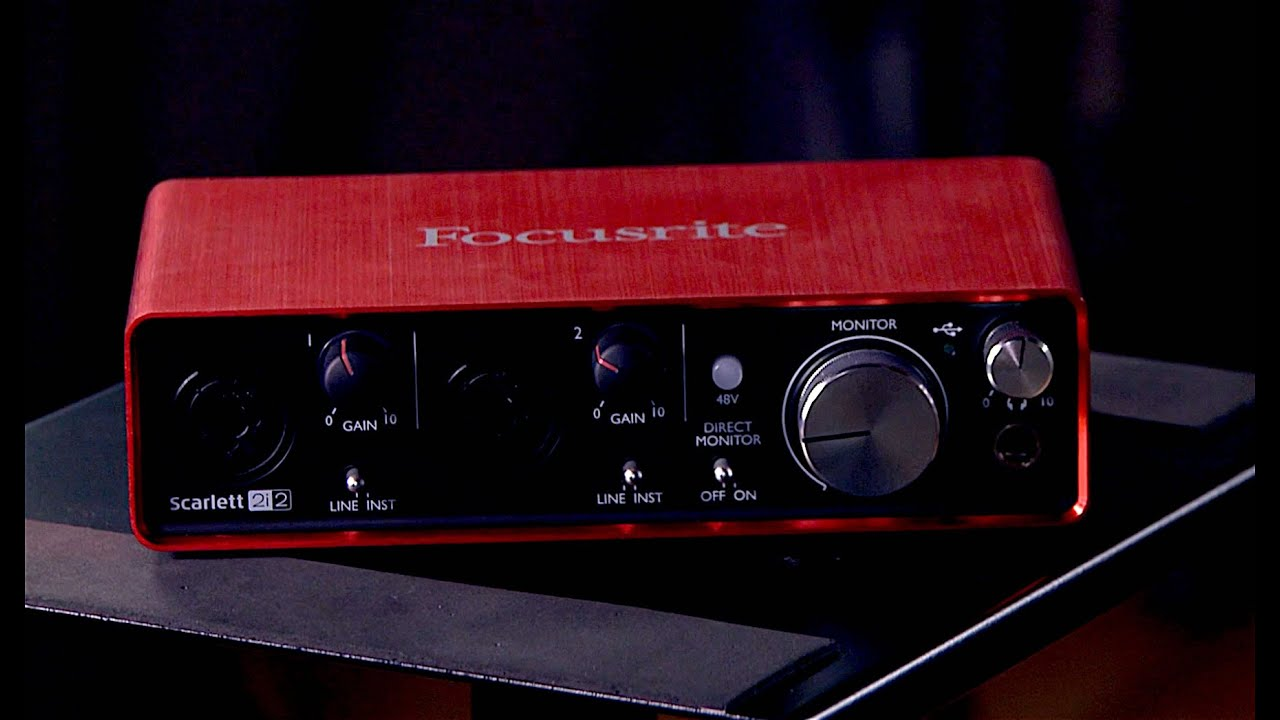 Best Audio Interfaces - Focusrite Scarlett 2i2