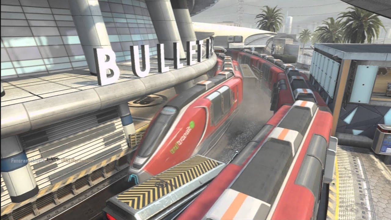 Black Ops 2 Epic Train Glitch On Express Youtube