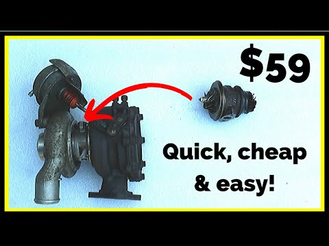 How To Rebuild A Turbo (Quick, Cheap & Easy Turbocharger Repair)